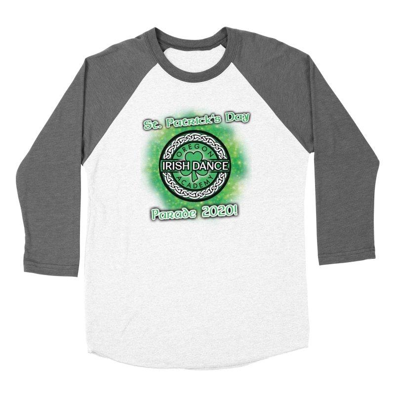 Parade 2020 (Special Release!) Men's Baseball Triblend Longsleeve T-Shirt by Oregon Irish Dance Academy
