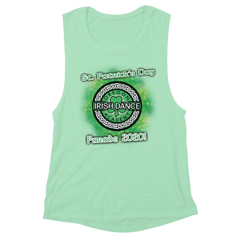 Parade 2020 (Special Release!) Women's Muscle Tank by Oregon Irish Dance Academy