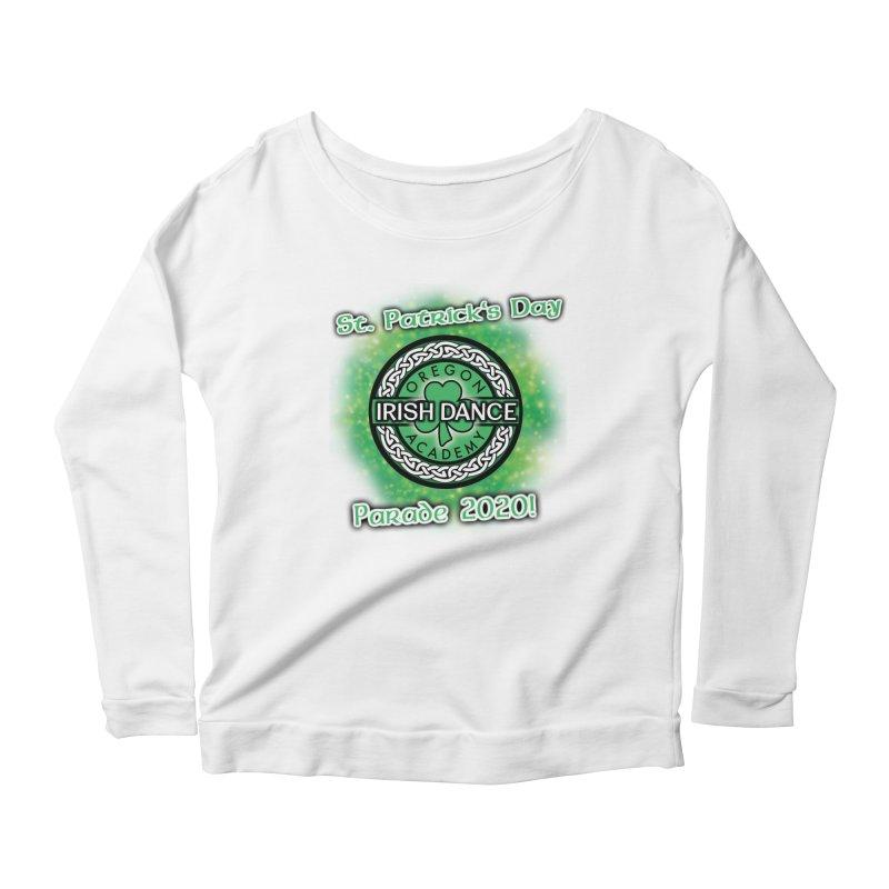 Parade 2020 (Special Release!) Women's Scoop Neck Longsleeve T-Shirt by Oregon Irish Dance Academy