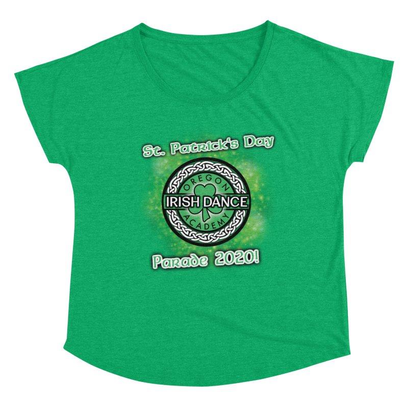 Parade 2020 (Special Release!) Women's Dolman Scoop Neck by Oregon Irish Dance Academy