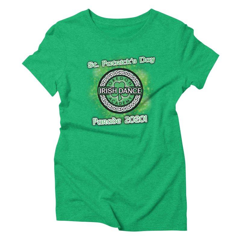 Parade 2020 (Special Release!) Women's Triblend T-Shirt by Oregon Irish Dance Academy
