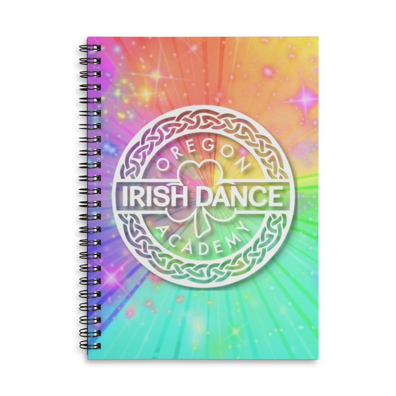 Rainbow Explosion Accessories Notebook by Oregon Irish Dance Academy