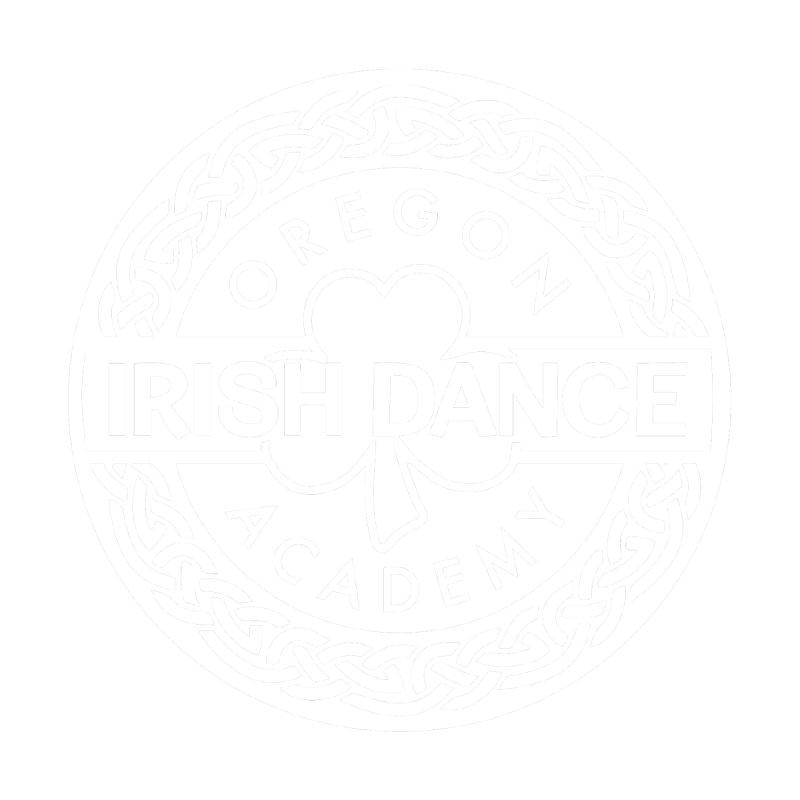 OIDA White Logo Men's Longsleeve T-Shirt by Oregon Irish Dance Academy