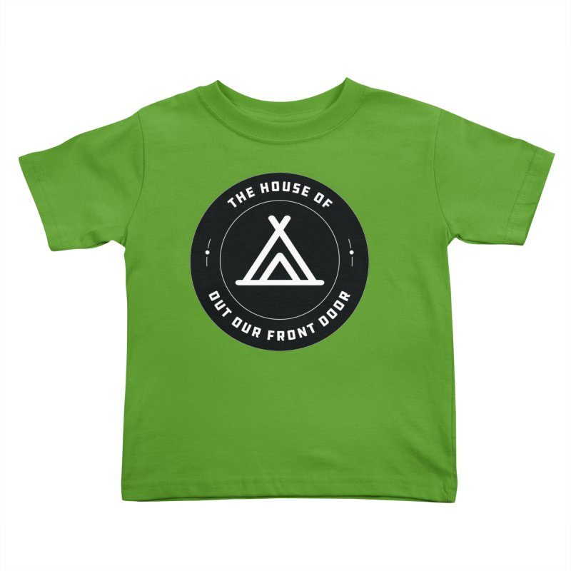 House of OOFD Badge Kids Toddler T-Shirt by OOFD's Artist Shop