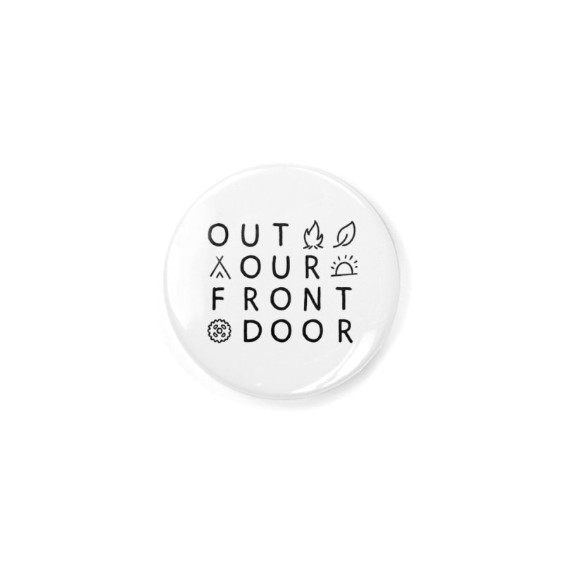 OOFD Simple Art by Evan Miller Accessories Button by OOFD's Artist Shop
