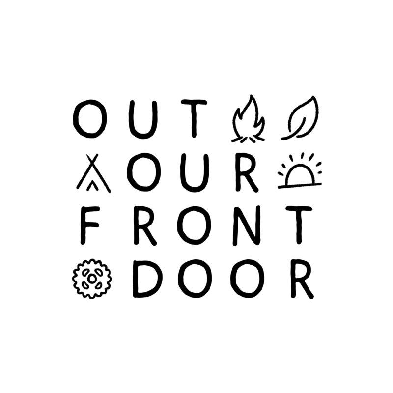 OOFD Simple Art by Evan Miller Women's Zip-Up Hoody by OOFD's Artist Shop