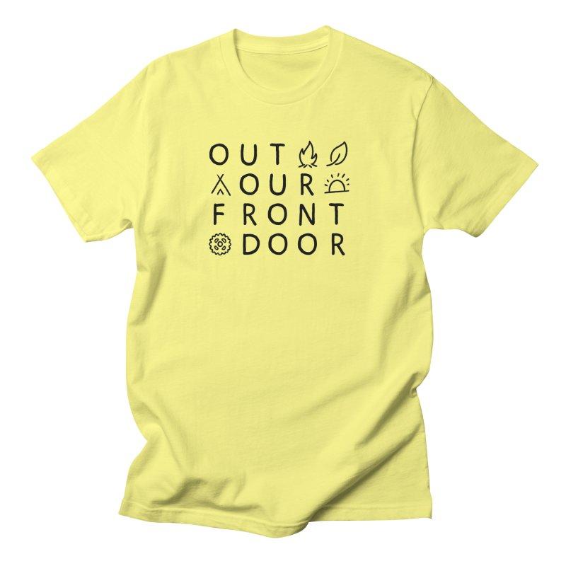 OOFD Simple Art by Evan Miller Men's T-Shirt by OOFD's Artist Shop