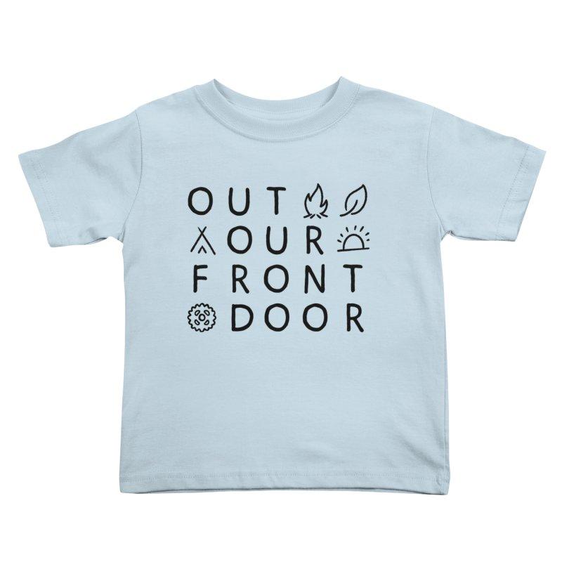 OOFD Simple Art by Evan Miller Kids Toddler T-Shirt by OOFD's Artist Shop