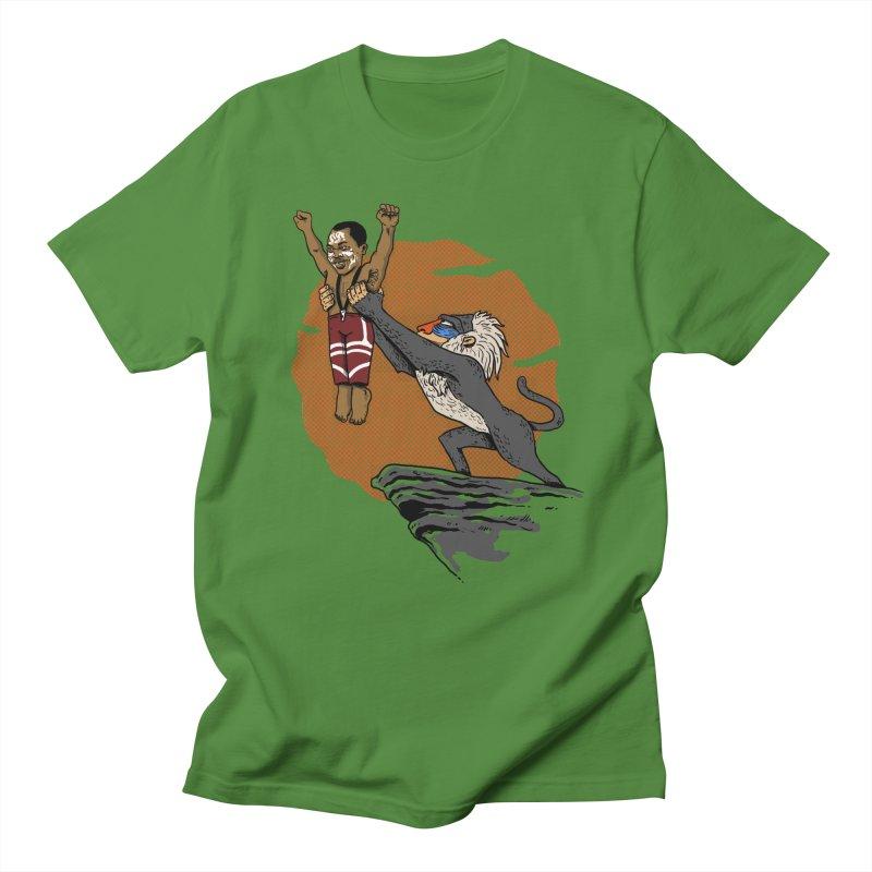 THE KING Men's T-Shirt by OSAZEAMADASUN's Artist Shop