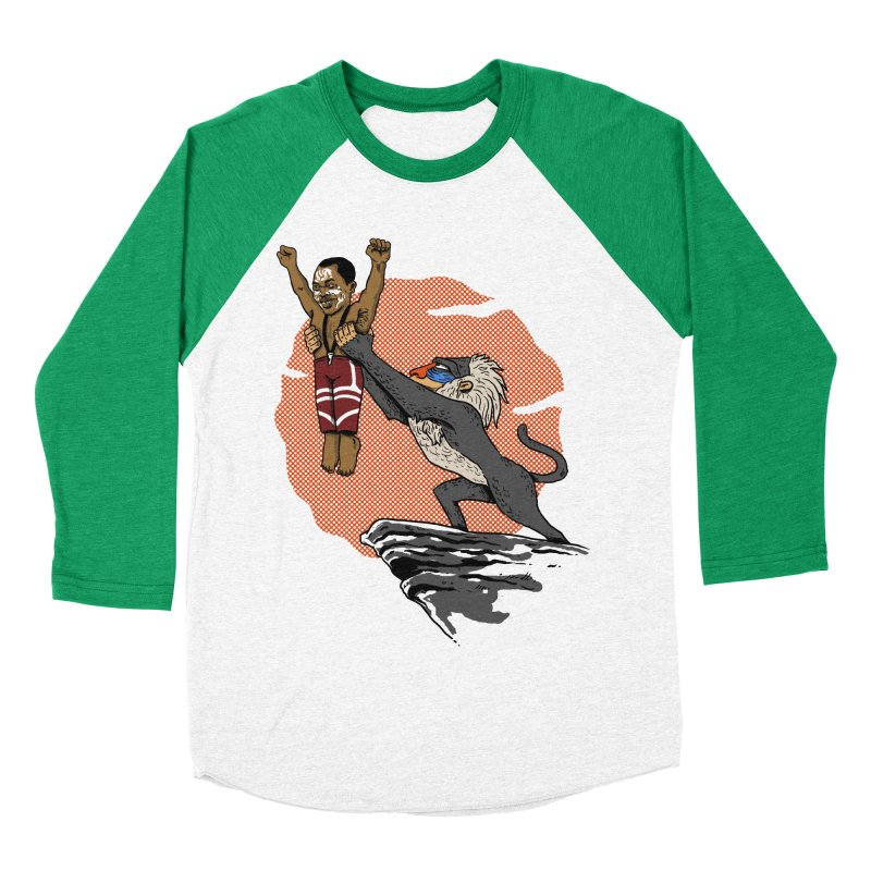 THE KING Men's Baseball Triblend T-Shirt by OSAZEAMADASUN's Artist Shop
