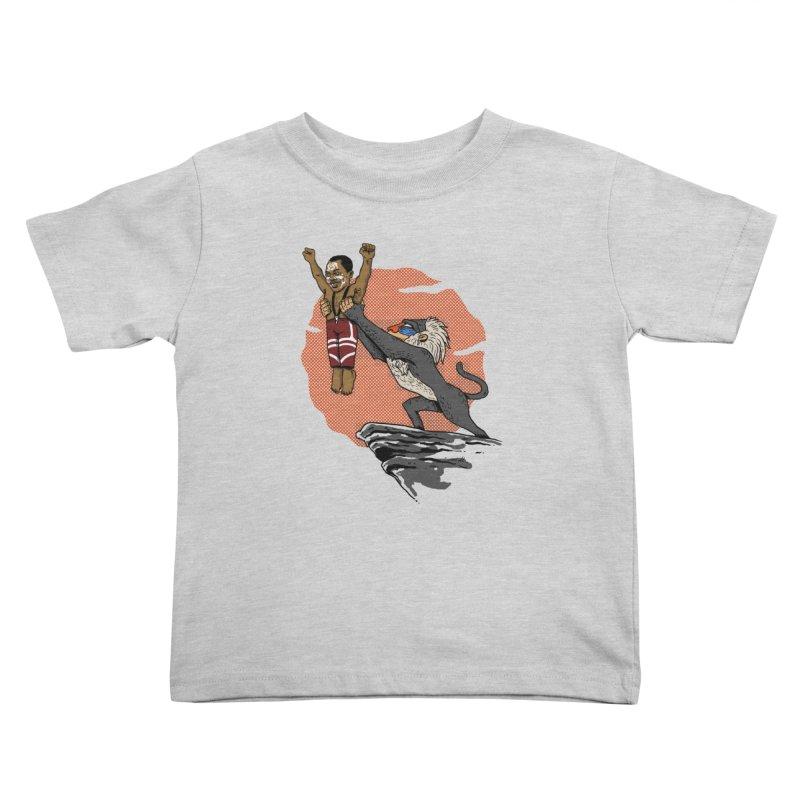 THE KING Kids Toddler T-Shirt by OSAZEAMADASUN's Artist Shop