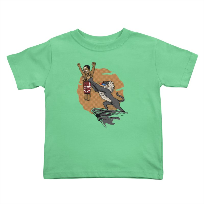 THE KING Kids Toddler T-Shirt by OSAZEAMADASUN's Artist Shop