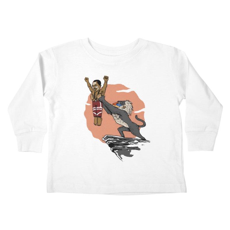 THE KING Kids Toddler Longsleeve T-Shirt by OSAZEAMADASUN's Artist Shop