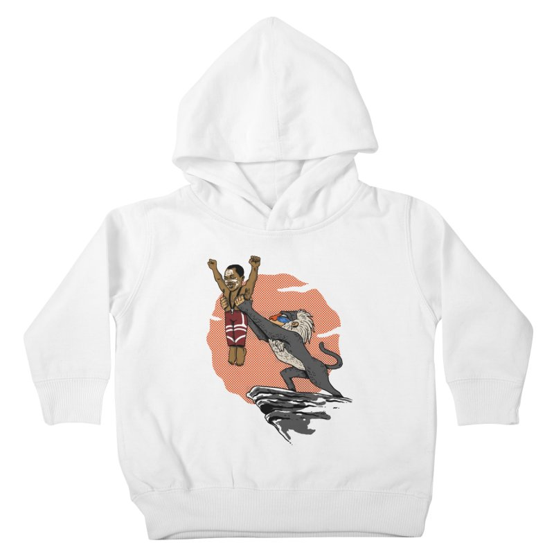 THE KING Kids Toddler Pullover Hoody by OSAZEAMADASUN's Artist Shop