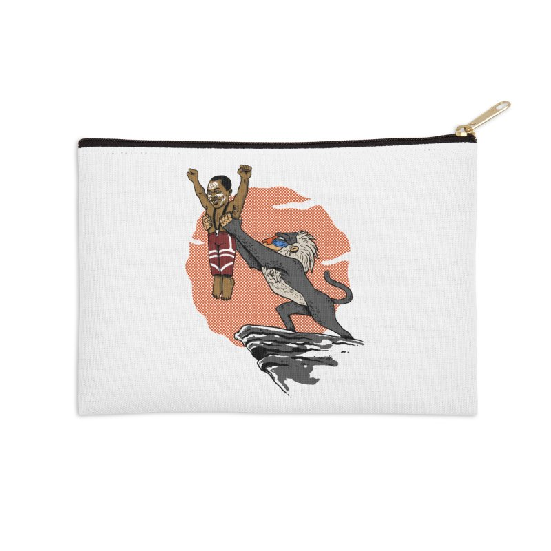 THE KING Accessories Zip Pouch by OSAZEAMADASUN's Artist Shop