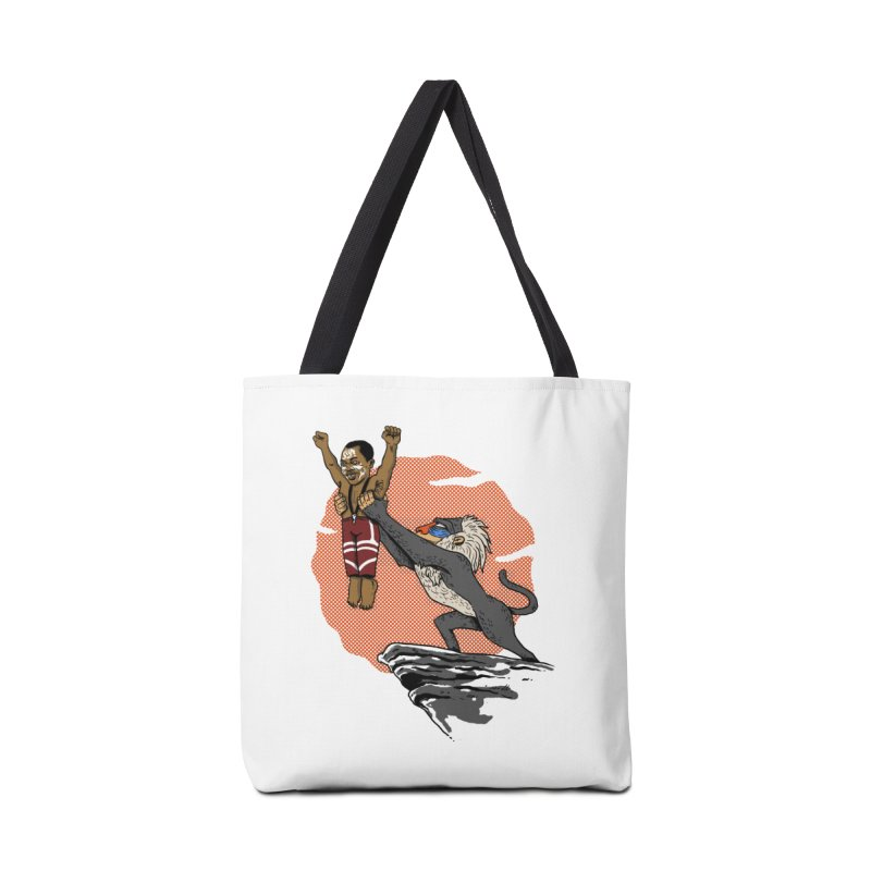 THE KING Accessories Bag by OSAZEAMADASUN's Artist Shop
