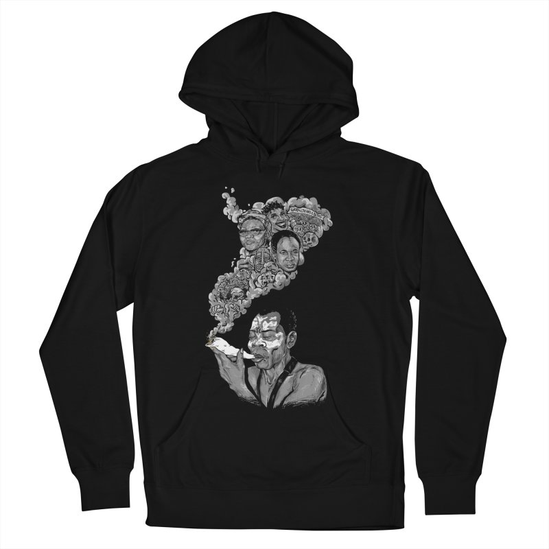 FOOD FOR THOUGHT Men's Pullover Hoody by OSAZEAMADASUN's Artist Shop