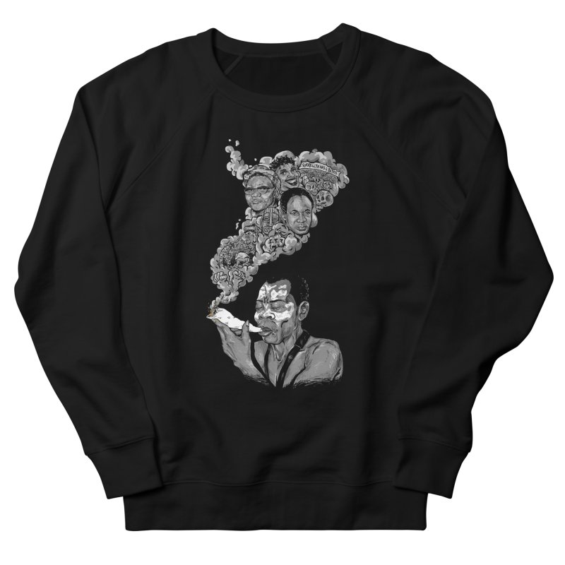 FOOD FOR THOUGHT Men's Sweatshirt by OSAZEAMADASUN's Artist Shop