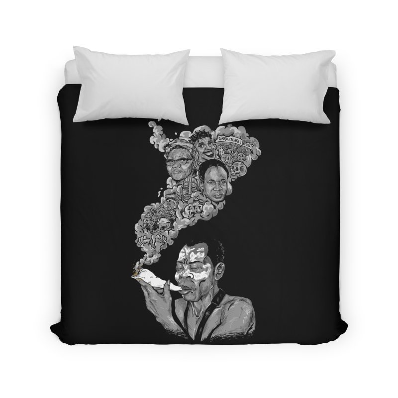 FOOD FOR THOUGHT Home Duvet by OSAZEAMADASUN's Artist Shop