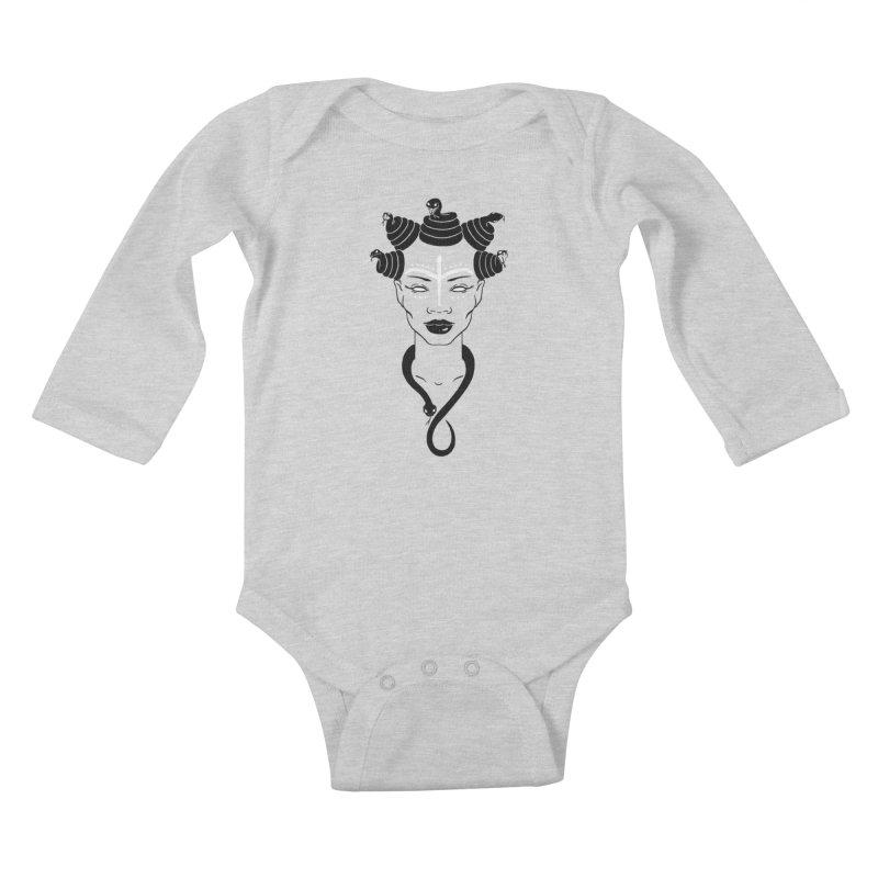 KARISHIKA Kids Baby Longsleeve Bodysuit by OSAZEAMADASUN's Artist Shop