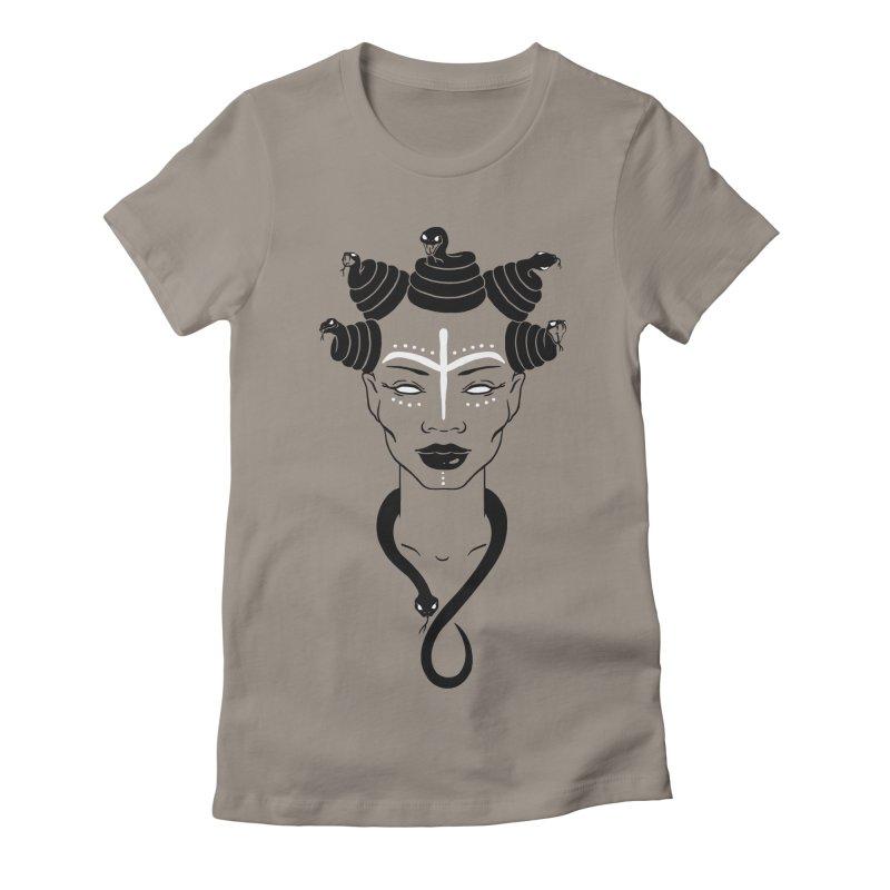 KARISHIKA Women's Fitted T-Shirt by OSAZEAMADASUN's Artist Shop