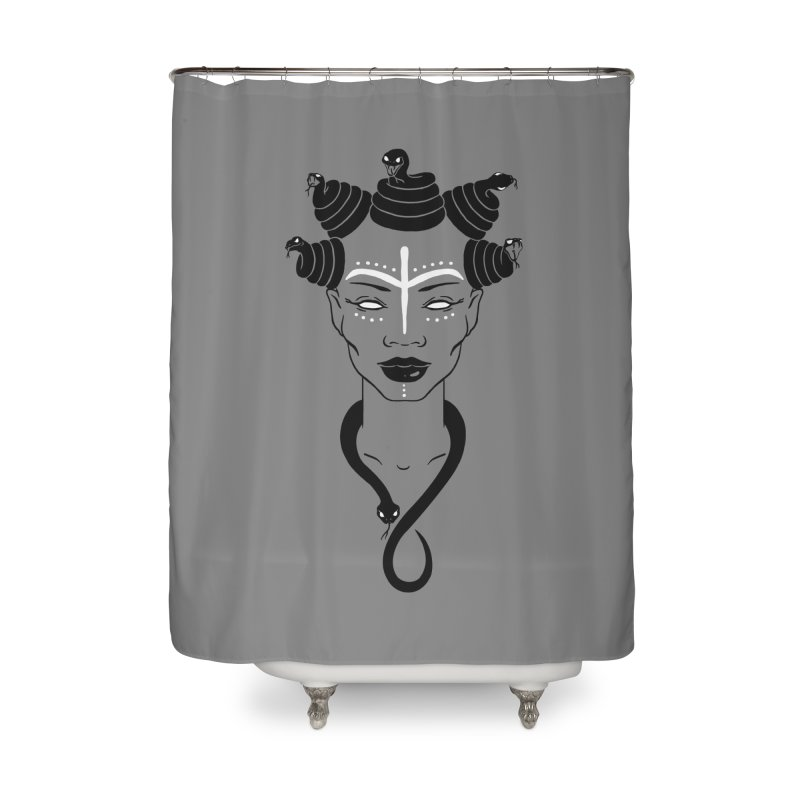 KARISHIKA Home Shower Curtain by OSAZEAMADASUN's Artist Shop