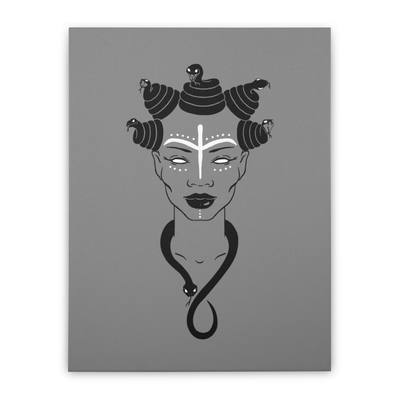 KARISHIKA Home Stretched Canvas by OSAZEAMADASUN's Artist Shop
