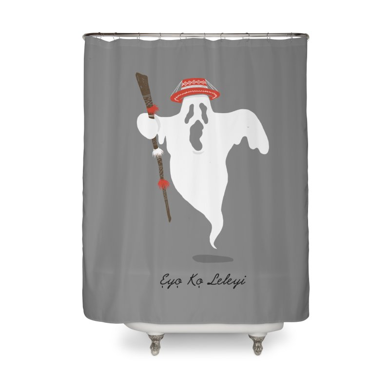 EYO KO LELEYI (THIS IS NOT AN EYO) Home Shower Curtain by OSAZEAMADASUN's Artist Shop