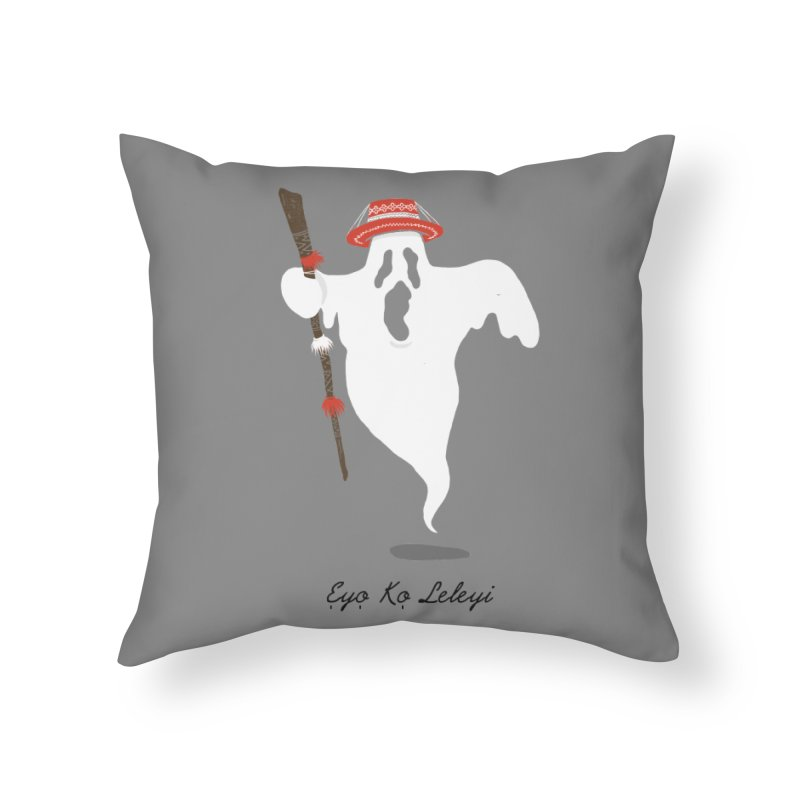 EYO KO LELEYI (THIS IS NOT AN EYO) Home Throw Pillow by OSAZEAMADASUN's Artist Shop