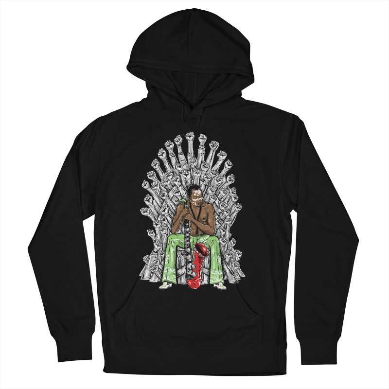 MUSIC IS THE WEAPON Women's Pullover Hoody by OSAZEAMADASUN's Artist Shop