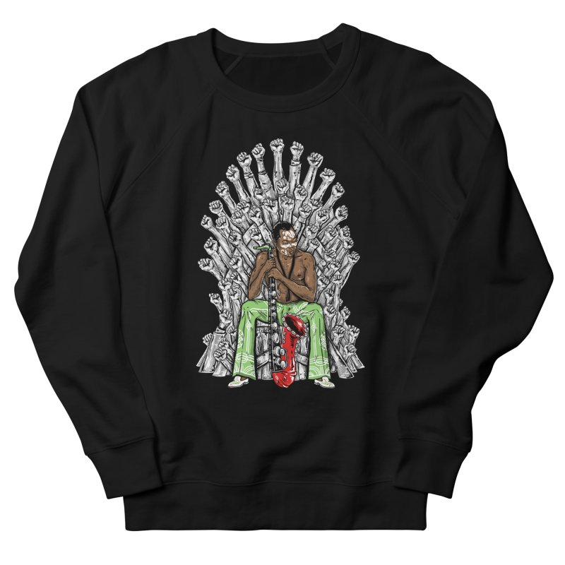MUSIC IS THE WEAPON Women's Sweatshirt by OSAZEAMADASUN's Artist Shop