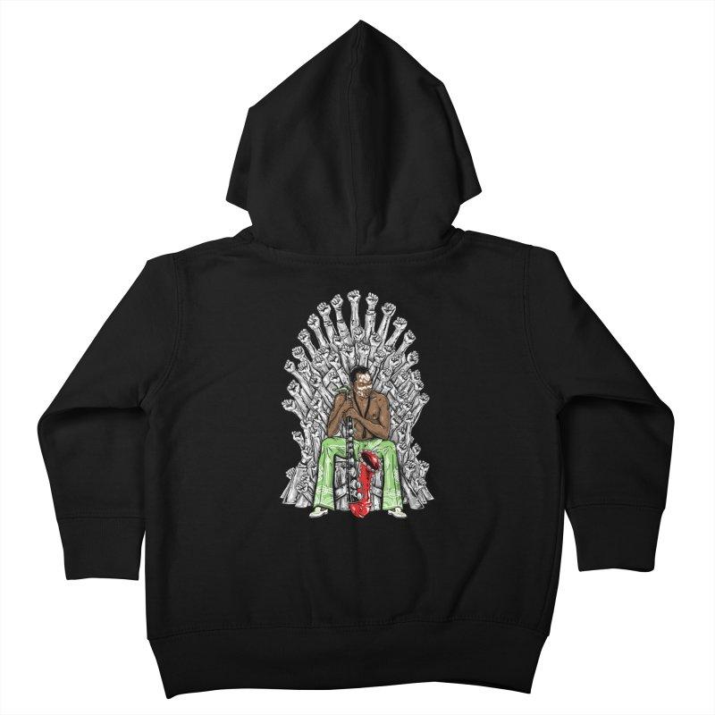MUSIC IS THE WEAPON Kids Toddler Zip-Up Hoody by OSAZEAMADASUN's Artist Shop