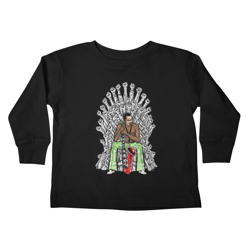 MUSIC IS THE WEAPON Kids Toddler Longsleeve T-Shirt by OSAZEAMADASUN's Artist Shop