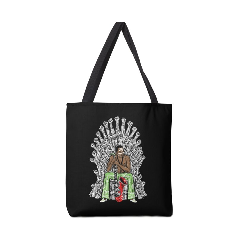 MUSIC IS THE WEAPON Accessories Bag by OSAZEAMADASUN's Artist Shop