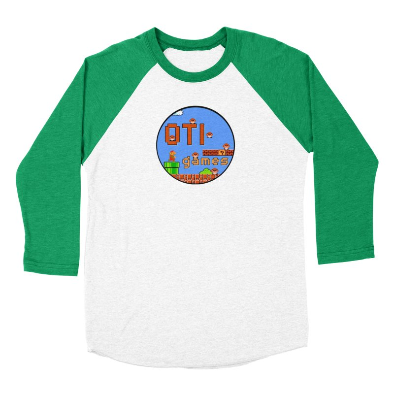 OTI Games #2 Men's Baseball Triblend Longsleeve T-Shirt by OTInetwork