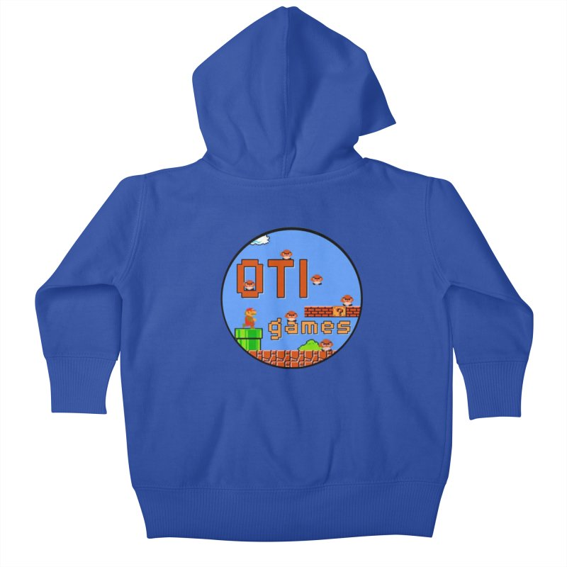OTI Games #2 Kids Baby Zip-Up Hoody by OTInetwork