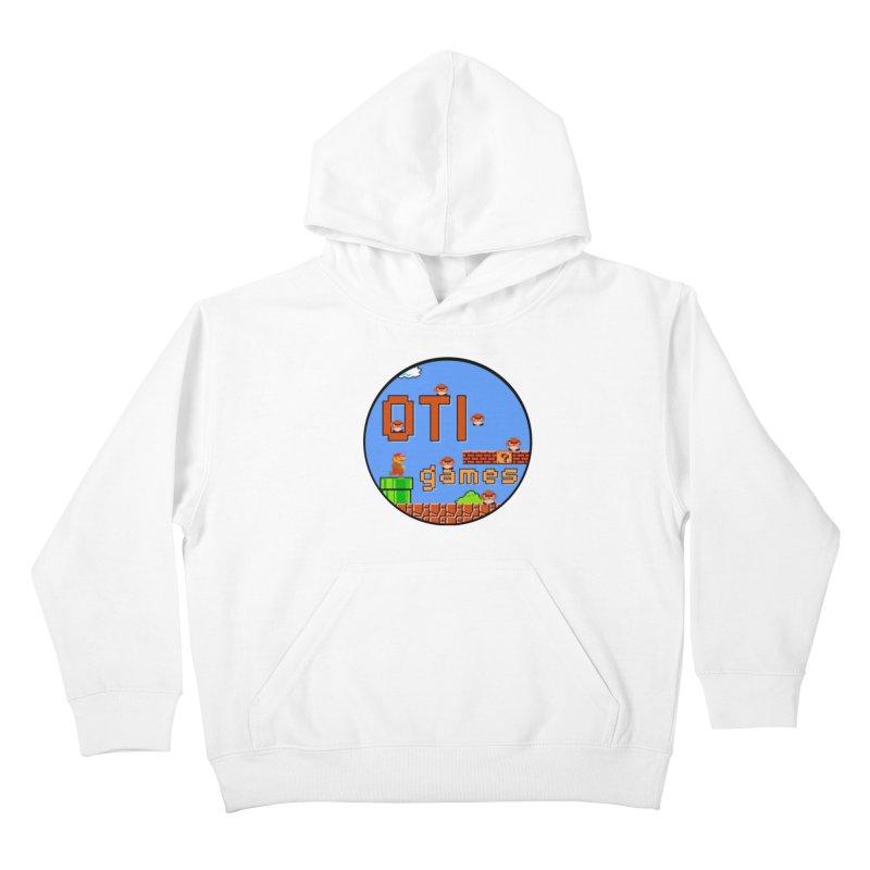 OTI Games #2 Kids Pullover Hoody by OTInetwork