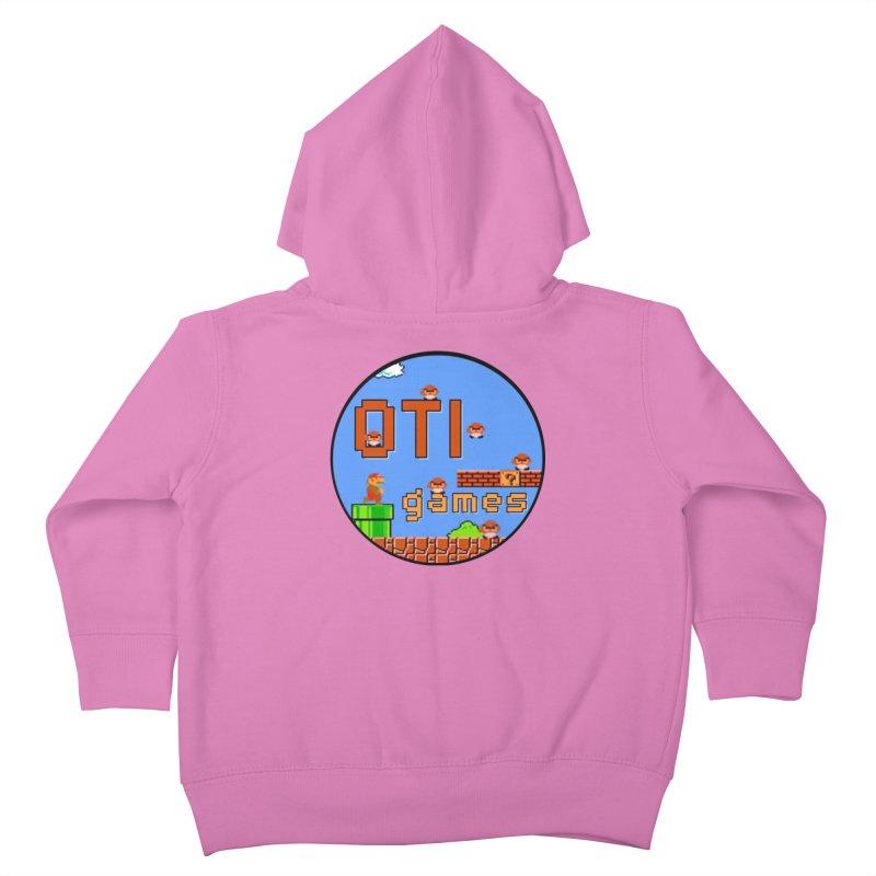 OTI Games #2 Kids Toddler Zip-Up Hoody by OTInetwork