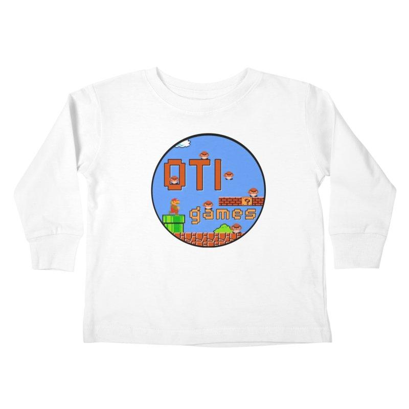 OTI Games #2 Kids Toddler Longsleeve T-Shirt by OTInetwork