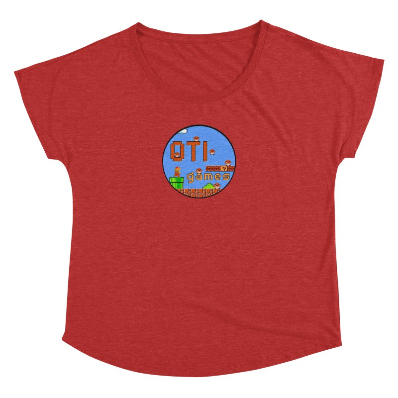 OTI Games #2 Women's Dolman Scoop Neck by OTInetwork