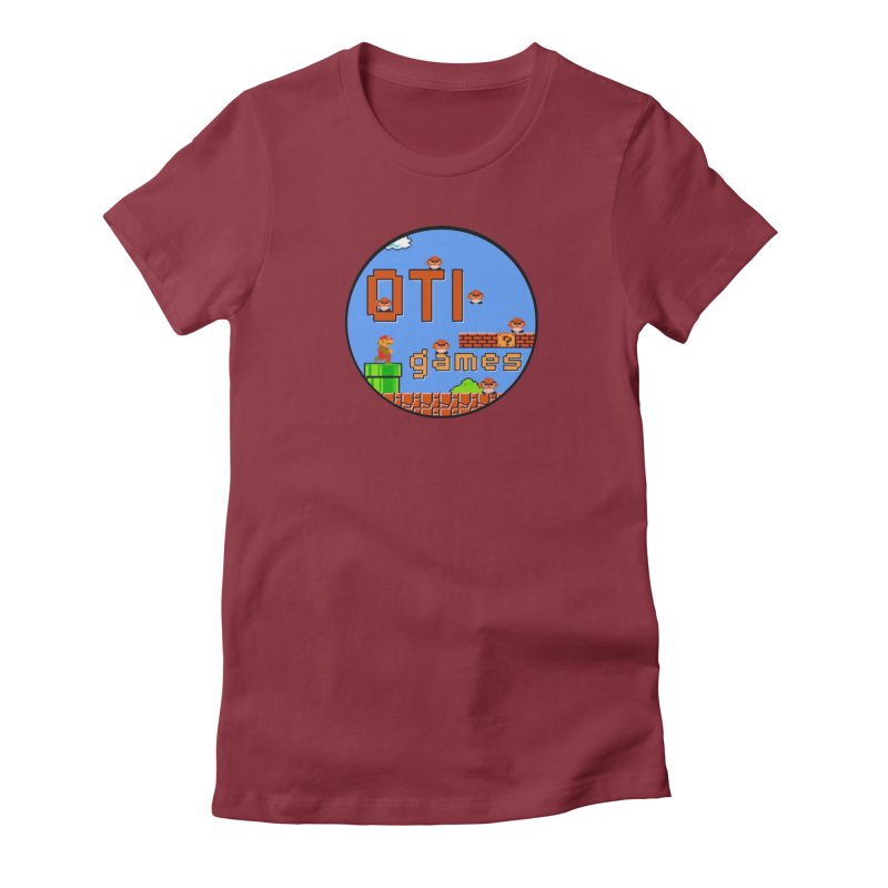 OTI Games #2 Women's Fitted T-Shirt by OTInetwork