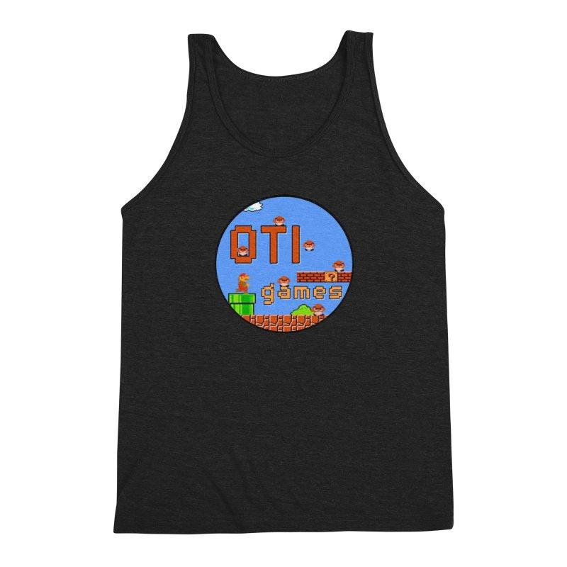 OTI Games #2 Men's Triblend Tank by OTInetwork