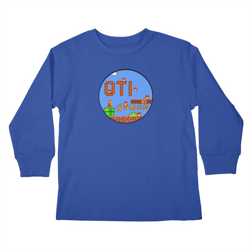 OTI Games #2 Kids Longsleeve T-Shirt by OTInetwork