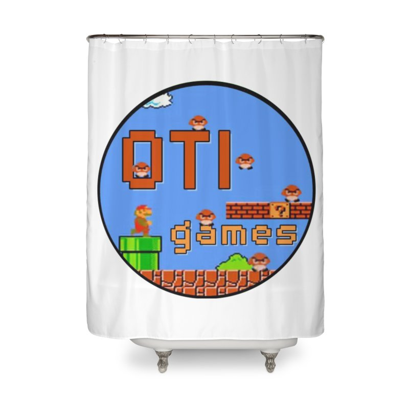 OTI Games #2 Home Shower Curtain by OTInetwork