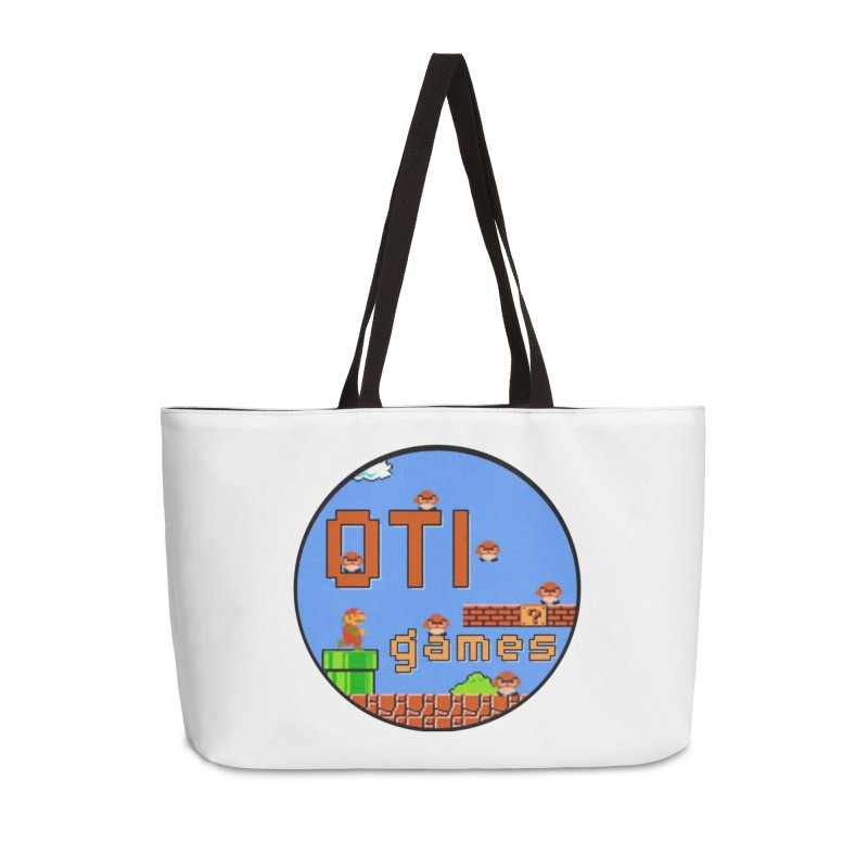 OTI Games #2 Accessories Weekender Bag Bag by OTInetwork