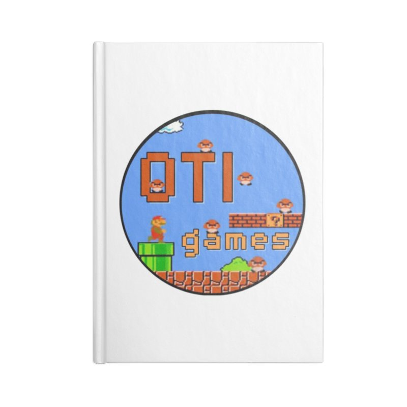 OTI Games #2 Accessories Lined Journal Notebook by OTInetwork