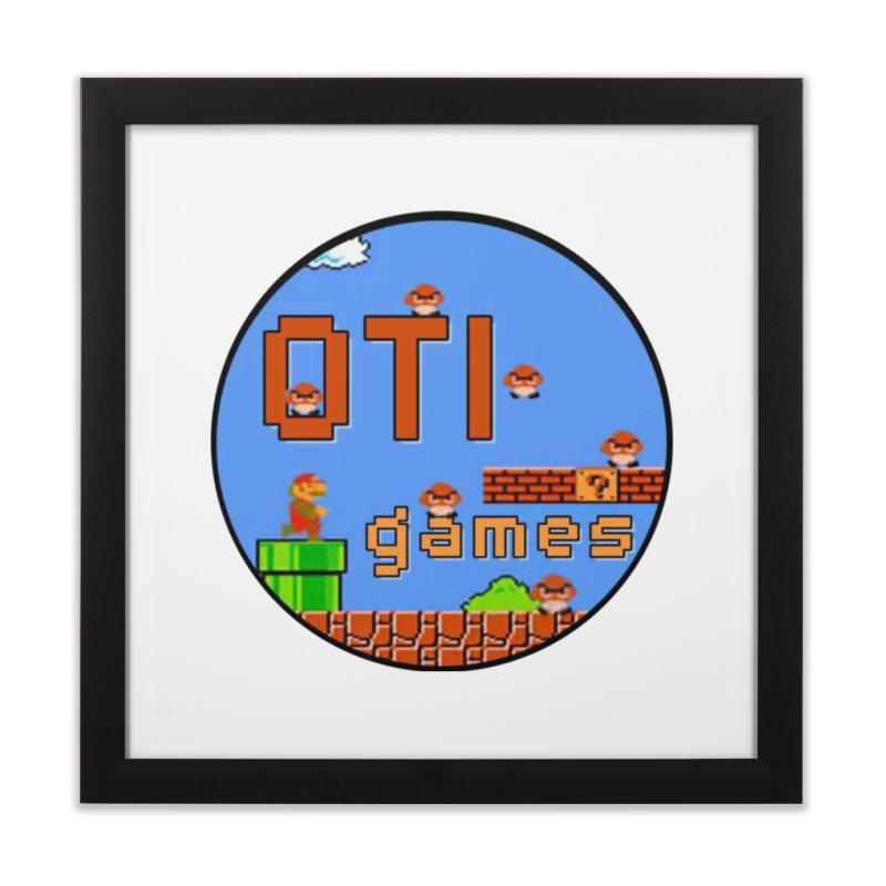 OTI Games #2 Home Framed Fine Art Print by OTInetwork