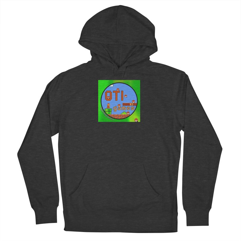 OTI Games #1 Women's French Terry Pullover Hoody by OTInetwork