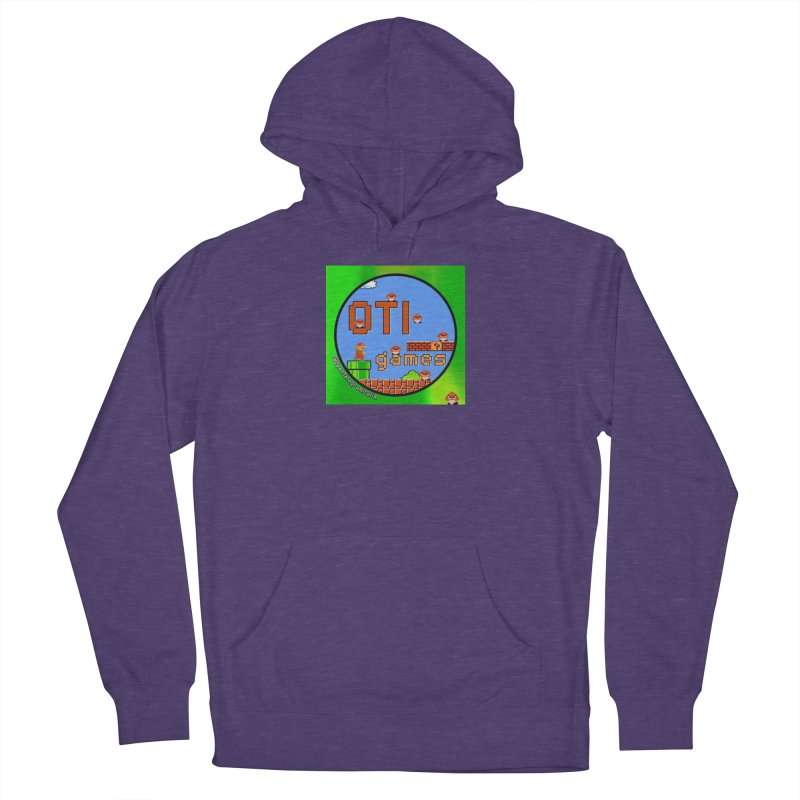 OTI Games #1 Men's French Terry Pullover Hoody by OTInetwork
