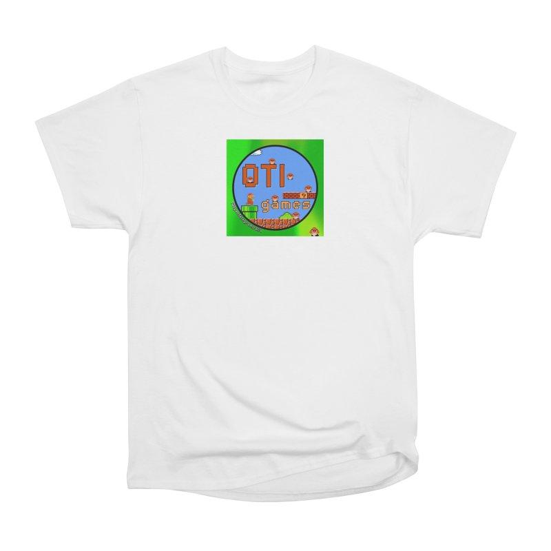 OTI Games #1 Men's Heavyweight T-Shirt by OTInetwork